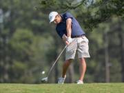 Boys Golf: NCHSAA 4-A Boys Golf State Championship (May 12, 2015)