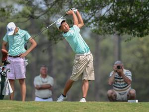 Boys Golf: NCHSAA 4-A Boys Golf Championship (May 12, 2015)