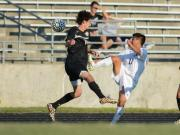 Boys Soccer: Holly Springs vs. Heritage (Aug. 27, 2014)