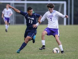 Boys Soccer: Cleveland vs. Corinth Holders (Oct. 12, 2015)