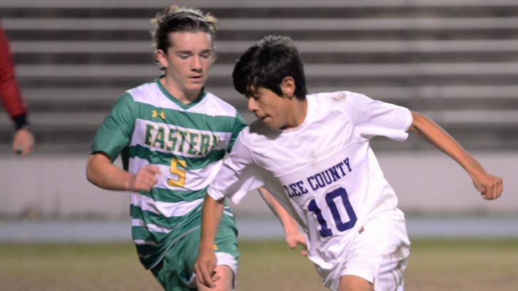 Soccer: Eastern vs Lee County High School