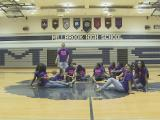 Millbrook's girls basketball team does the Harlem Shake