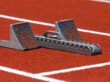 Track & Field Stock Image