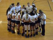 Volleyball: Apex vs. Broughton (Aug. 26, 2014)