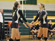 Volleyball: Fuquay-Varina vs. Apex (Oct. 18, 2014)