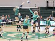 Volleyball: Eastern Alamance vs. Cardinal Gibbons (Oct. 23, 2014)