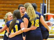 Volleyball: Gray's Creek vs. Lee County (Oct. 23, 2014)