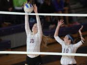 Volleyball: Hoggard vs. Broughton (Oct. 25, 2014)