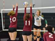 Volleyball: Cedar Ridge vs. Cardinal Gibbons (Oct. 25, 2014)