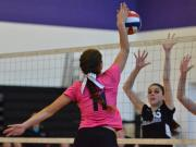 Volleyball: South Columbus vs. Carrboro (Oct. 25, 2014)