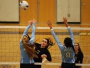 Volleyball: J.H. Rose vs. Broughton (Oct. 28, 2014)
