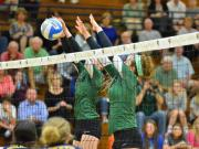 Volleyball: Cardinal Gibbons vs. Lee County (Oct. 28, 2014)