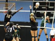 Volleyball: Green Hope vs. Panther Creek (Oct. 27, 2015)