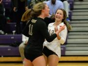 Volleyball: Apex vs. Broughton (Oct. 27, 2015)
