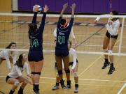 Volleyball: Leesville Road vs. Broughton (Oct. 29, 2015)