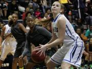Girls Basketball: Southeast Raleigh vs. Clayton (Jan. 17, 2014)