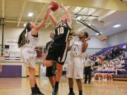 Girls Basketball: Apex vs. Holly Springs (Jan. 22, 2014)