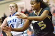 Girls Basketball: Knightdale 59, Clayton 30 (Feb. 3, 2014)