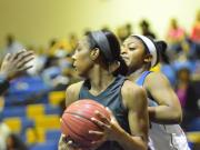 Girls Basketball: Southeast Raleigh vs. Garner (Feb. 19, 2014)