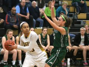 Girls Basketball: Cardinal Gibbons vs. Chapel Hill (Feb. 21, 2014)