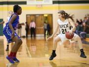 Girls Basketball: Wake Forest vs. Apex (Feb. 24, 2014)