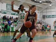 Girls Basketball: Green Hope vs. Cary (Feb. 24, 2014)