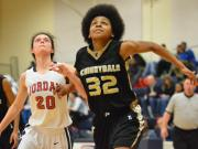 Girls Basketball: Jordan 50, Knightdale 40 (Feb. 24, 2014)