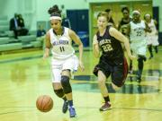 Girls Basketball: Ashley vs. Millbrook (Feb. 28, 2014)