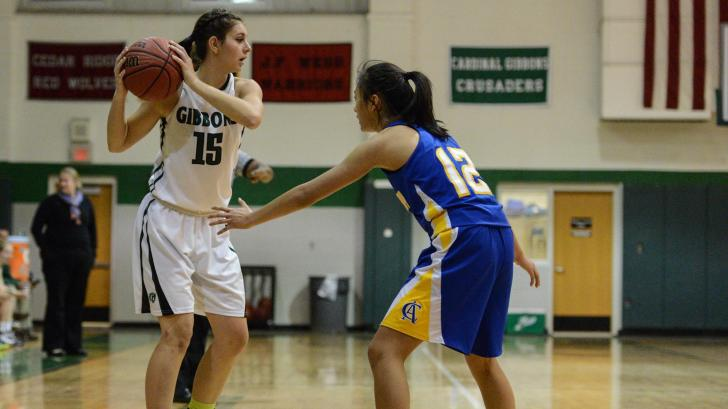 Girls Basketball: Cardinal Gibbons vs. Cary Academy (Nov. 19, 20