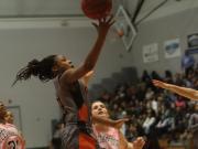 Girls Basketball: Cedar Ridge vs. Orange (Feb. 13, 2015)
