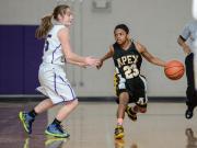 Girls Basketball: Apex vs. Broughton (Feb. 28, 2015)