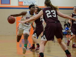 Girls Basketball: Green Hope vs. Athens Drive (Feb. 28, 2015)