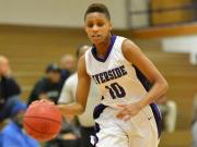 Girls Basketball: Knightdale vs. Riverside (Mar. 2, 2015)