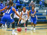Girls Basketball: Garner vs. Clayton (Dec. 17, 2015)