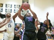 Girls Basketball: Riverside vs. Hillside (Dec. 18, 2015)
