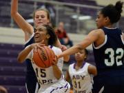 Girls Basketball: Leesville Road vs. Broughton (Jan. 26, 2016)