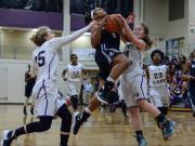 Girls Basketball: Millbrook vs. Broughton (Jan. 29, 2016)