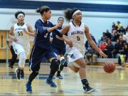 Girls Basketball: Heritage vs. Millbrook (Feb. 5, 2016)