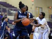 Girls Basketball: Heritage vs. Broughton (Feb. 12, 2016)