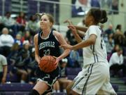 Girls Basketball: Leesville Road vs. Heritage (Feb. 17, 2016)