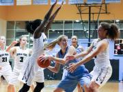 Girls Basketball: Panther Creek vs. Green Hope (Feb. 19, 2016)