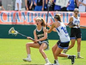 Girls Lacrosse: Cardinal Gibbons vs. Lake Norman (May 21, 2016)