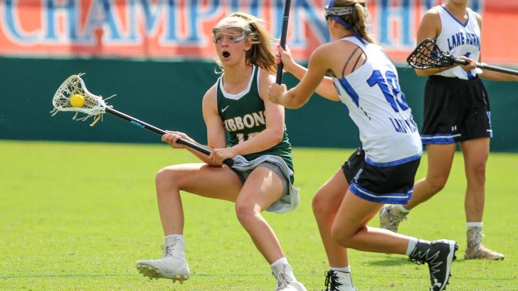 Girls Lacrosse: Cardinal Gibbons vs. Lake Norman (May 21, 2016)