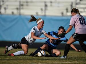 Eastern Girls Regional Soccer:  Hoggard High School vs Panther C