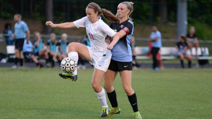Girls Soccer: Panther Creek vs Middle Creek (May 21, 2016)