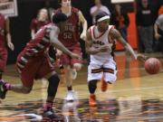 Boys Basketball: Orange 62, Cedar Ridge 59 (Feb. 17, 2014)