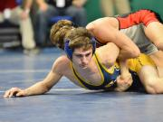Wrestlers compete in 2015 individual state championships (Feb. 21, 2015)