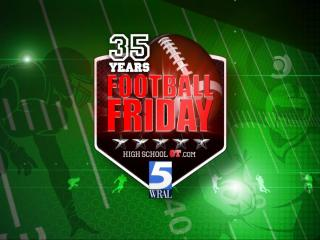 Football Friday 35th anniversary logo