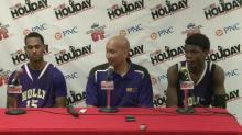 Postgame interviews: Person, Holly Springs