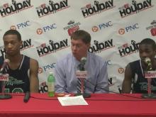 Postgame Interview: Leesville Road (Dec. 27, 2012)